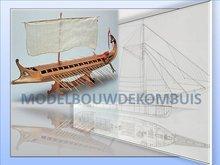 Bireme Tekening+Bouwbeschrijving