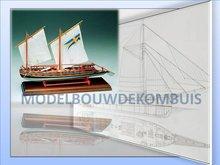Gunboat Tekening+Bouwbeschrijving
