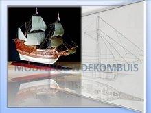 Mayflower Tekening+Bouwbeschrijving