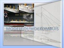 RMS Titanic Tekening+Bouwbeschrijving