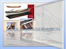 Whaleboat Tekening+Bouwbeschrijving