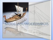 Nave Vikinga Tekening+Bouwbeschrijving