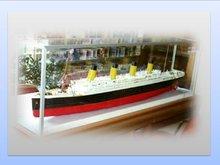 Vitrine Titanic