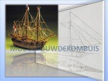 Baleniera Olandese Tekening+Bouwbeschrijving