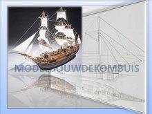 H.M.S. Bounty Tekening+Bouwbeschrijving